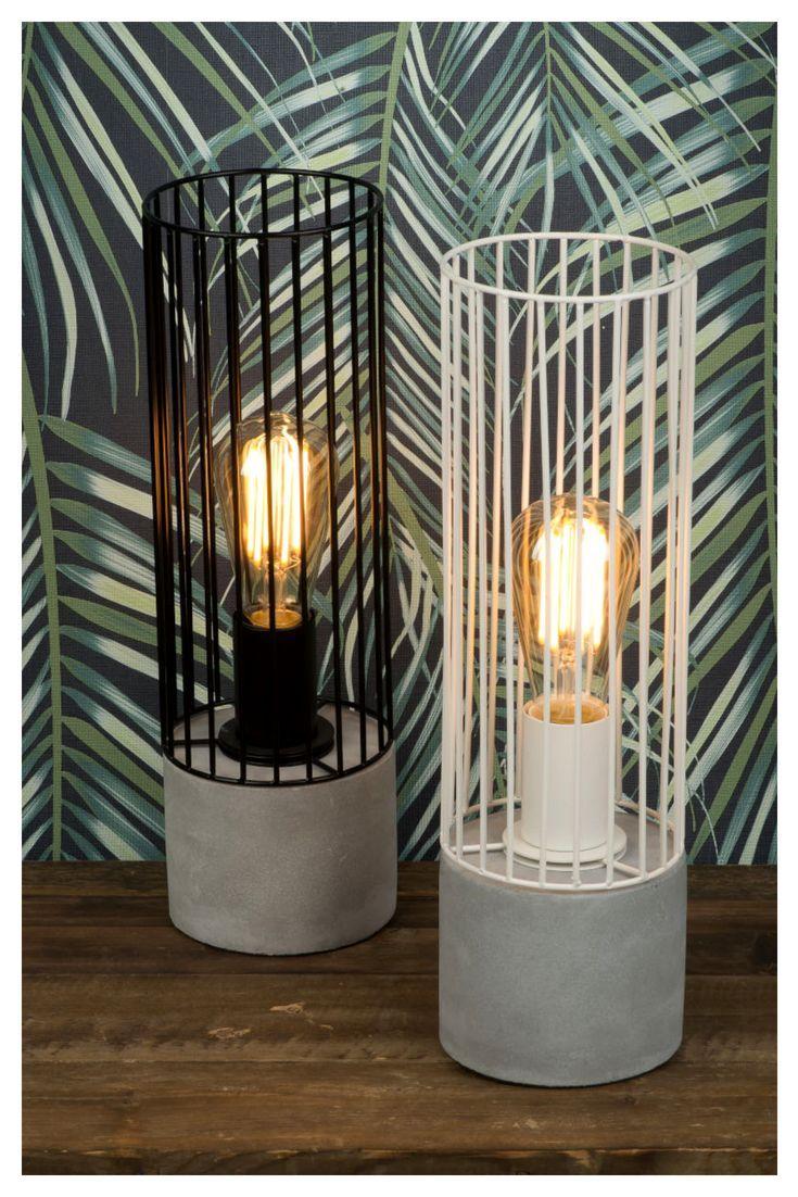 Tischleuchte Memphis Weisse Tischlampe Tischlampen Und