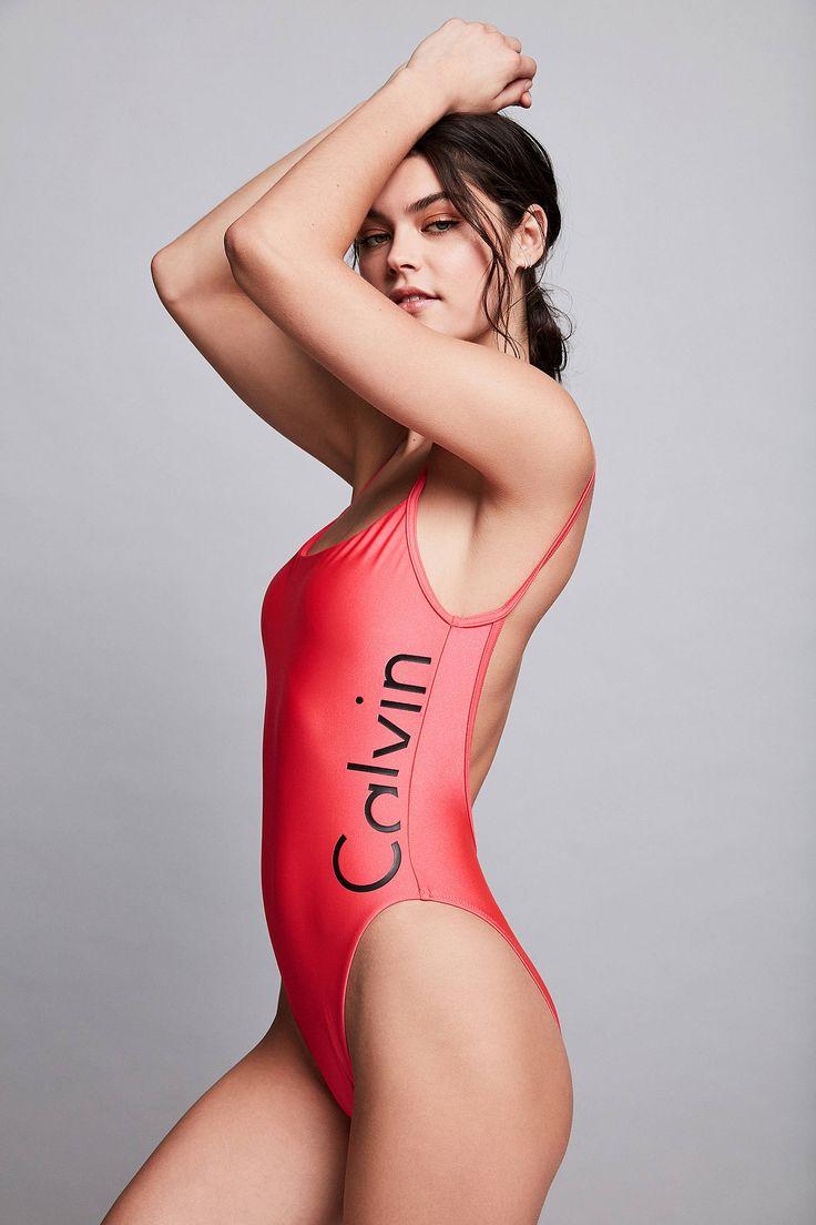 Calvin Klein - Maillot de bain échancré sexy - Urban Outfitters