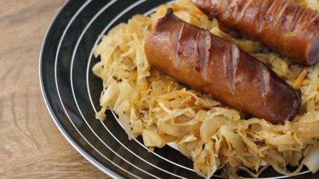 Bavarian sausages