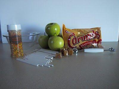 Mein süßer Ry-Pie und auch CalJ: Mini-Karamell-Äpfel   – Desserts