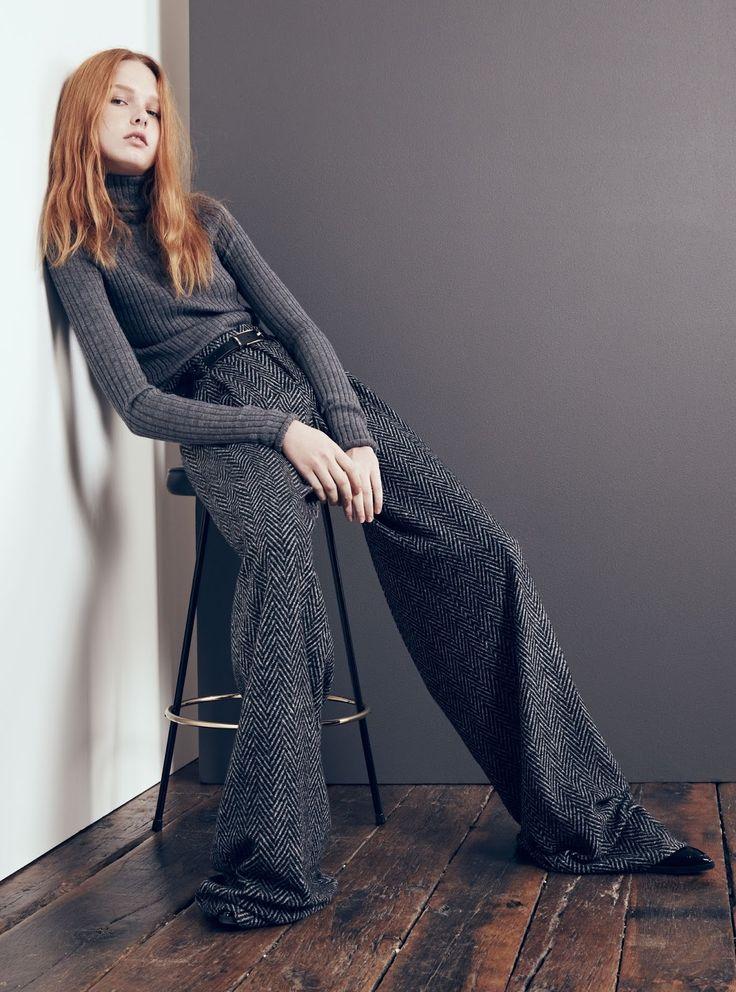 Prenda FW 2015: pantalón de Zara con espiga y anchísimo