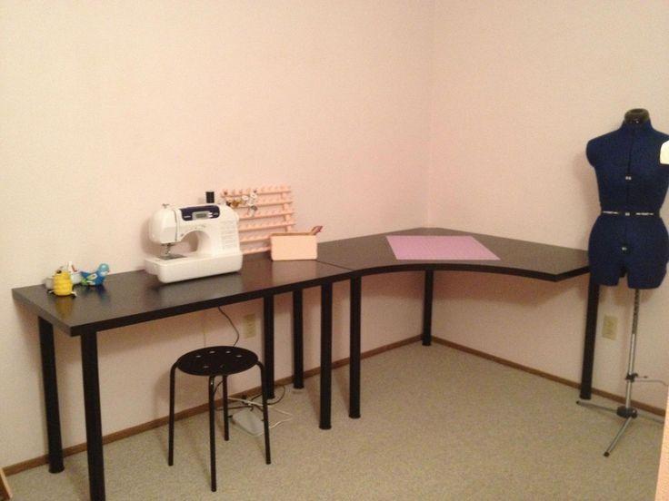 DIY #L Shape Desk (Tischpläne) #computerdeskhomeoffice – #computerdeskhomeoffice #Desk #DIY …