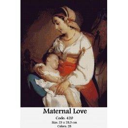 Cross Stitch Kit - Maternal Love