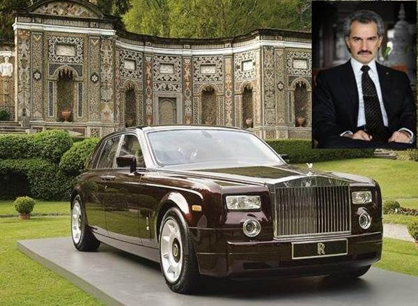 Prince Alwaleed Bin Talal Alsaud is a Saudi business tycoon, investor, and philanthropist. He is a member of the Saudi royal family and owns stakes in private and public firms in the U.S.,    Europe and the Middle East. The high-profile prince drives a Rolls-Royce Phantom. The entry level version of his car costs $246,000, while a high-end variant that a royal would likely go for is worth $447,000.    By the way, the prince has more than 300 cars in his impressive collection.
