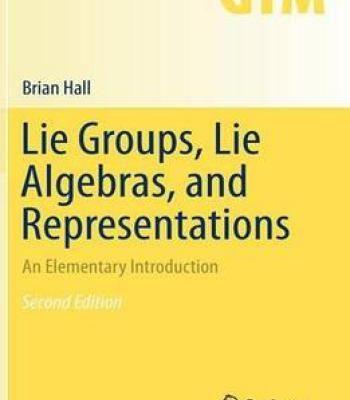 Lie Groups Lie Algebras And Representations PDF