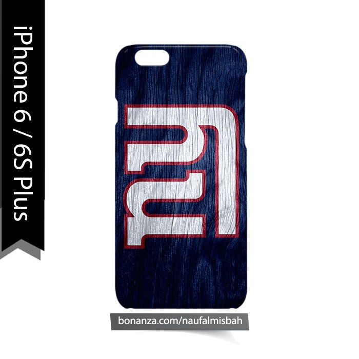 New York Giants Custom #2 iPhone 6/6s PLUS Case Cover Wrap Around
