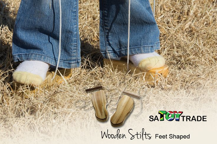 2 Wooden stilts in the shape of a foot with adjustable cords and handles. Each stilt is held in position by two cords, one on each side of the foot. By pulling on the cords, when a foot is lifted, the stilt stays in contact with the bottom of the foot. As the fundamental skill of walking is mastered, additional cues can be added such as change of direction, spinning, hopping, skipping and jumping. Theses stilts are excellent to help children focus on body awareness, balance and foot…