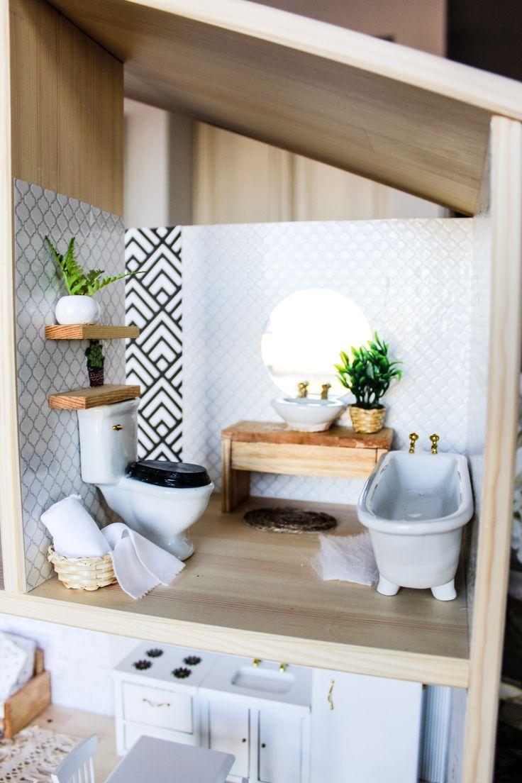 DIY Modern (IKEA) Dollhouse Hack (With images) Ikea
