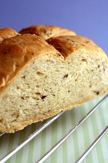 Crave - {Basil, Garlic and Feta Bread | Feta, Basil and Garlic