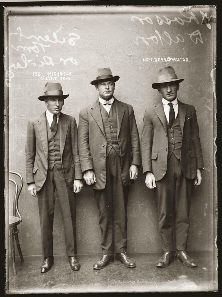 Les criminels australiens entre 1920 et 1948