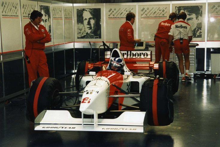 Marlboro McLaren Mercedes                                 No.8 Mika HAKKINEN                                             McLaren MP4/10                               Mercedes-Bzns FO110 NA3.0L V10        Goodyear