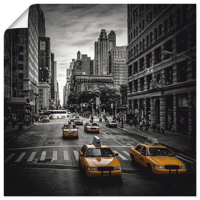 5th Auf Avenue Der Kunstdruck Poster Verkehr Viola York