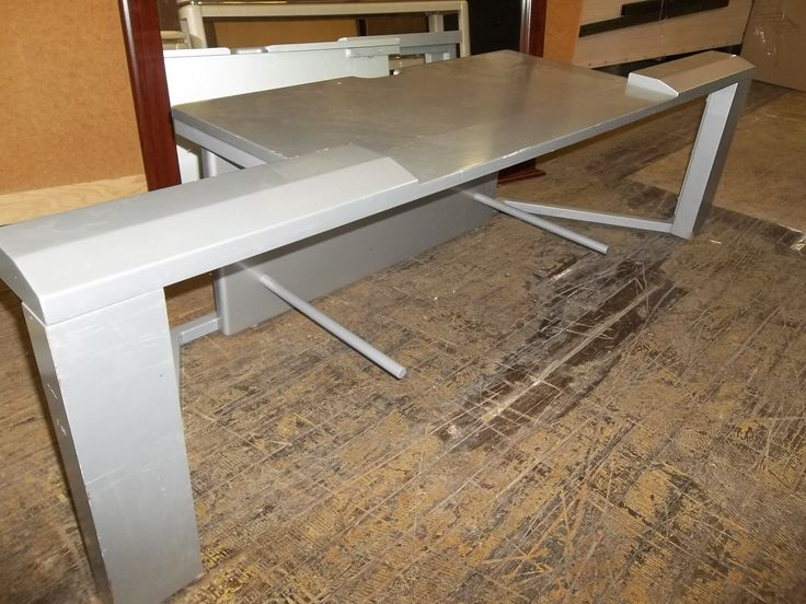 Silver TV stand 10386