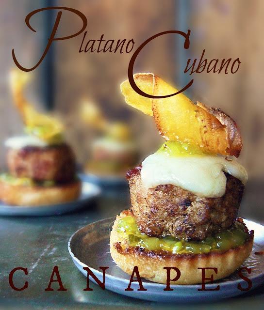 The Platano Cubano ~ Cuban Canapes
