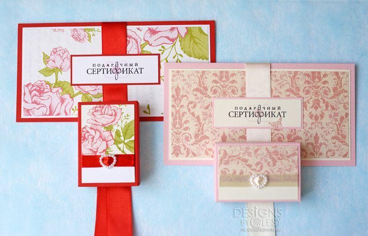 Подарочные сертификаты и коробочки для флешек | 43 фотографии
