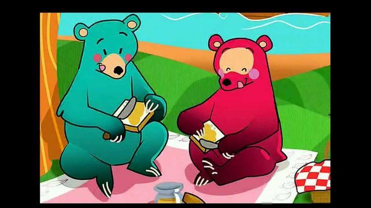 liedje: ik zag twee beren broodjes smeren!