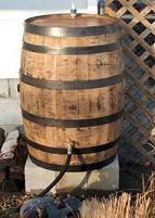 Rain Barrels from Aaron's Rain Barrels in Leominster, Massachusetts. Whiskey Barrel  100% Recycled Plastic or Traditional Oak Whiskey Barrels.  http://www.farmersmarketonline.com/rain-barrels2.htm