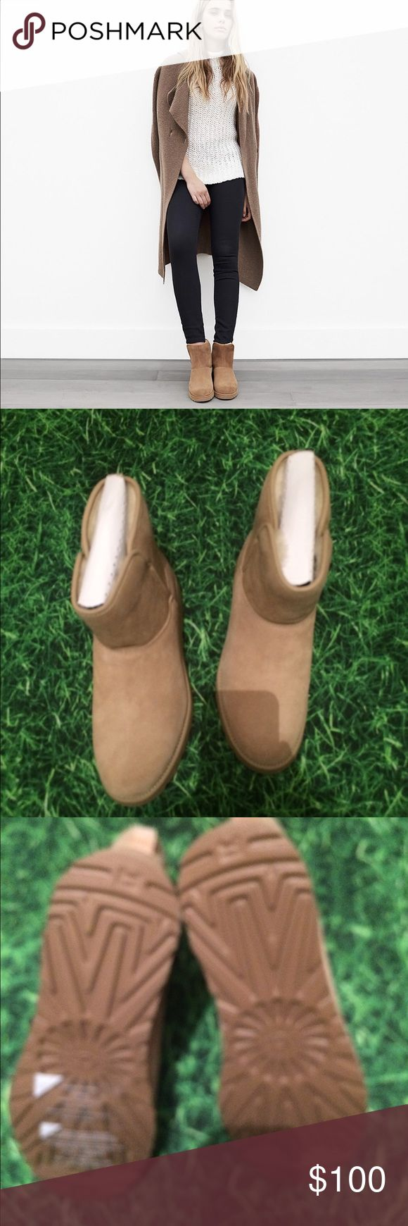 Ugg Kristin First pic not for color. Color is sand. Price is firm. No trades please. No bundling available this Tim UGG Shoes