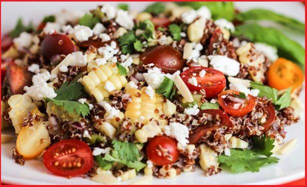 Insalata di quinoa e feta http://tormenti.altervista.org/insalata-di-quinoa-e-feta/