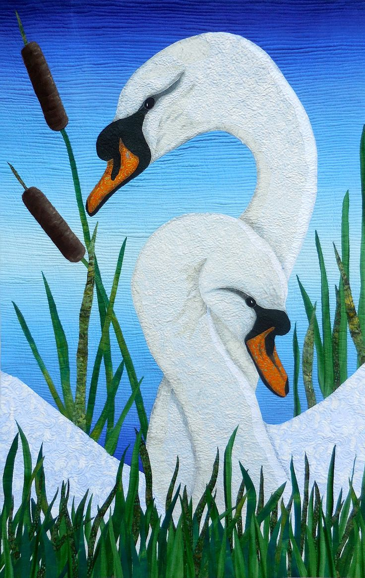13 Best Quilts Swan Quilts Images On Pinterest