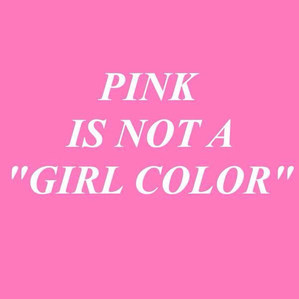 This is a great way to simply express that color preferences are not based on gender. Having simple sayings and posters like this around a school/classroom can spark opportunities for healthy conversation.