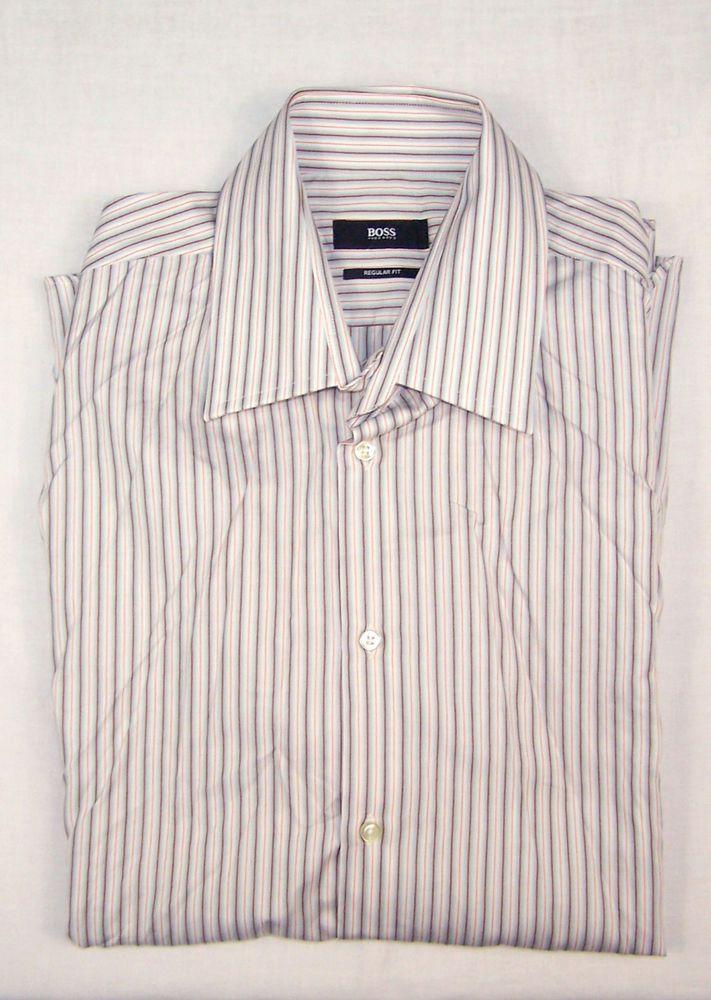 874c3ec1fa HUGO BOSS MENS REGULAR FIT SHIRT Size 41 / 16 #fashion #clothing #shoes  #accessories #mensclothing #shirts (ebay link)