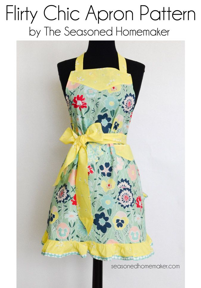 flirty apron patterns free You can make a classic apron that is cute enough for hosting, but practical for everyday use inspired by the baking outside the box recipe book let angel.
