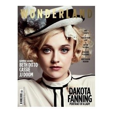 dakota in wonderlandCelebrities Magazines, Dakota Fans, Dakota Fanning, Wonderland Magazines, Aprilmay 2012, Covers Girls, Fashion Magazines, Magazines Covers, Photography