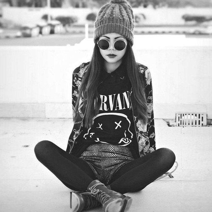 Barato Moda 2017 harajuku mulheres camiseta nirvana carta de impressão t shirt camisetas mujer tumblr do punk tops tees camiseta de manga curta preta, Compro Qualidade Camisetas diretamente de fornecedores da China: