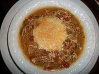 Try this delicious Chicken Chili Crock Pot Soup medifast recipe. This is a lean and green recipe, which is compliant with the Take Shape For Life program.