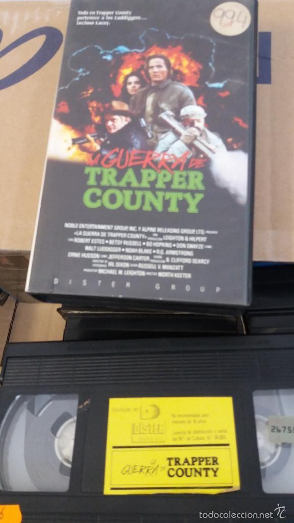 Trapper County War (aka Dirty War in EU Germany (UFA), from the makers of Pale Blood and Rush Week, PAL VHS, Spain (EU), Dister Group). ••• #Kauhu #Arthouse #näyttelijät #Španjolska #Brexploitation #CommonMarket #Bmovie #Exploitation #Swede #Indie #Cannes #Deauville #Venezia #BBFC #Pamplona #Basque #LloretdeMar #Pyrenees #Tuliaseet #Taidot #Vuoret #Mäet #España #Todocoleccion