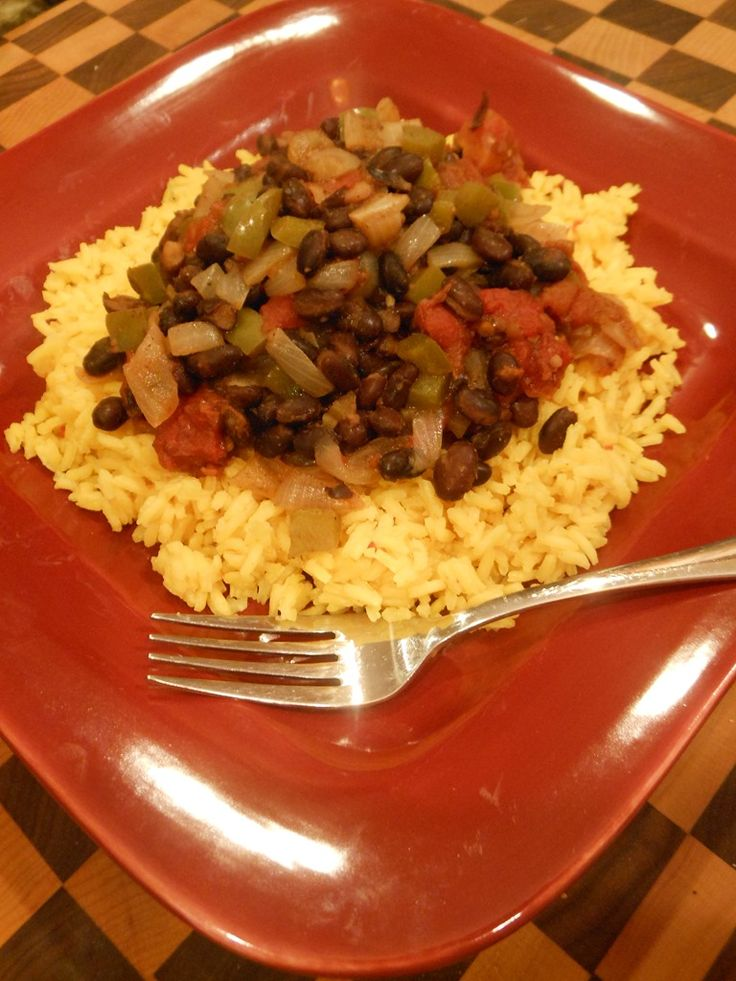 Easy Black Beans And Rice Recipes Dishmaps