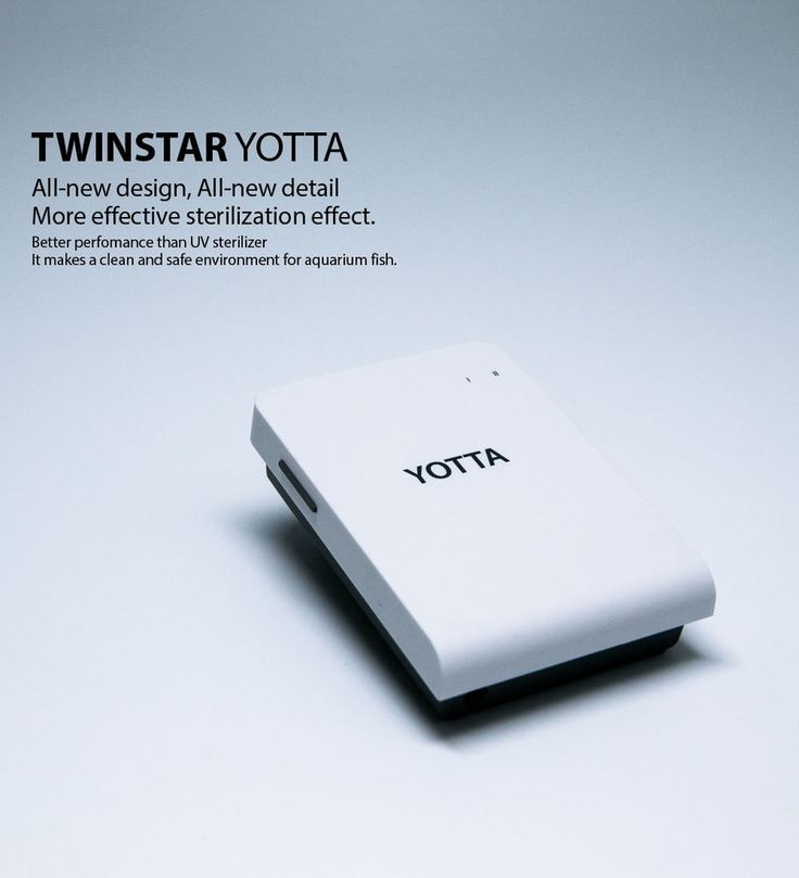 TWINSTAR Yotta for 56gal Aquarium Sterilizer Prevent Fish Disease  #TWINSTAR