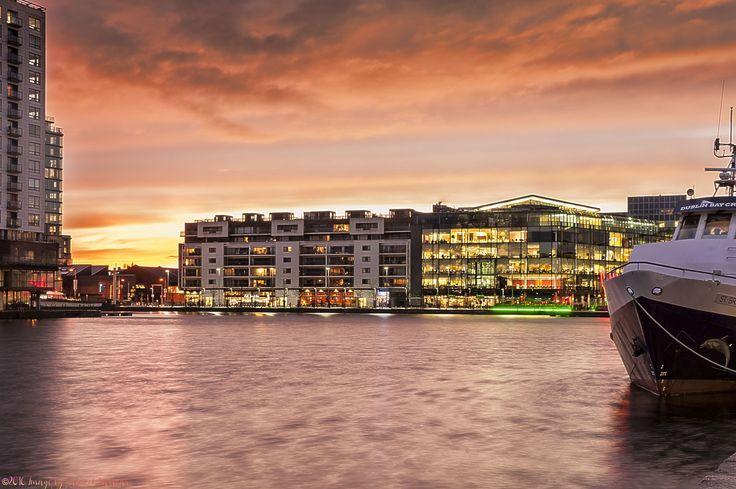 Grand canal Dock, Dublin Ireland