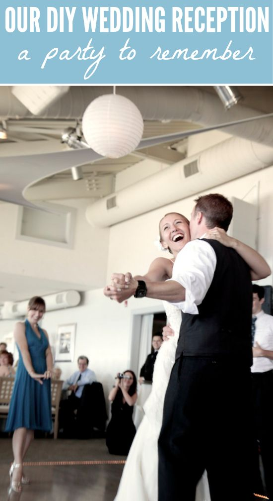 Creative ideas for how to incorporate rip-roaring dancing, heartfelt moments, and handmade touches into your DIY wedding reception...to make it a party to remember!