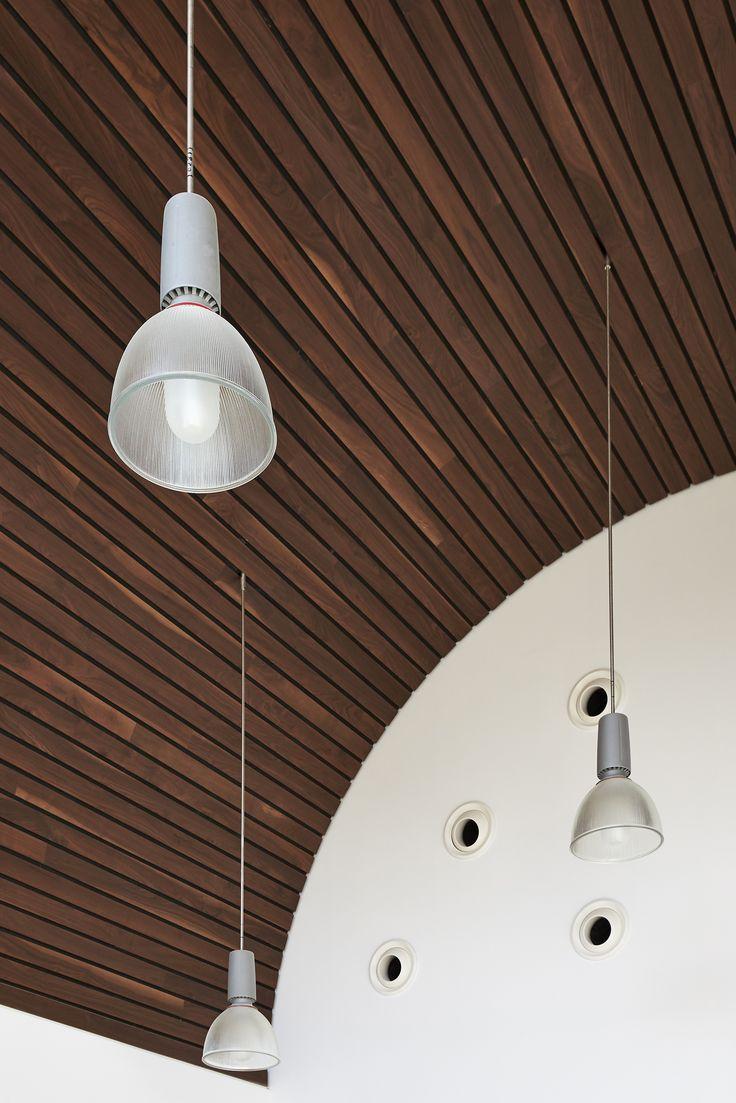 1000 images about derako on pinterest - Wood slat ceiling system ...