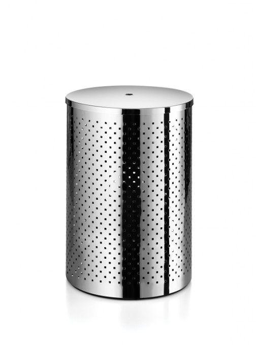 #Lineabeta #Basket #Wäschebehälter 5353.29.29 | #Modern #Edelstahl | im Angebot auf #bad39.de 208 Euro/Stk. | #Italien #Bad #Accessoires #Badezimmer #Einrichtung #Ideen #Gadgets
