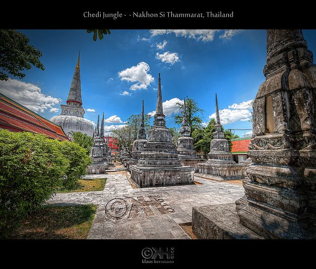 Chedi Jungle - Nakhon Si Thammarat, Thailand (HDR) by farbspiel, via Flickr