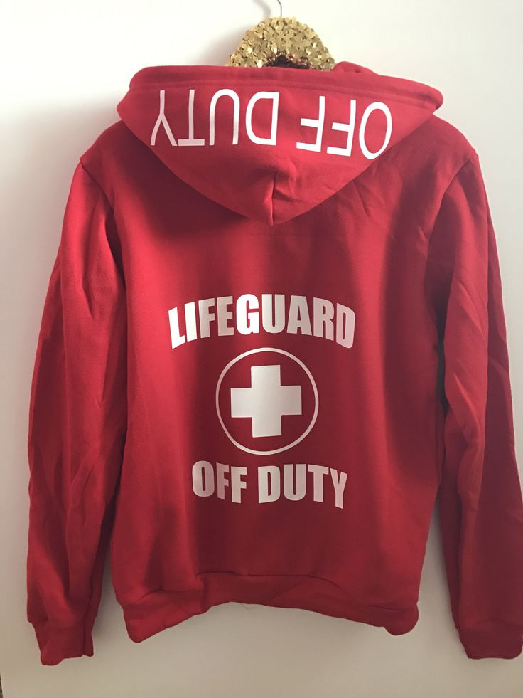 Lifeguard off Duty - Zip Up Hoodie - Ruffles with Love