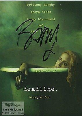 Britney-Murphy-Deadline-8x10-RP-lustre-Autographed-photo