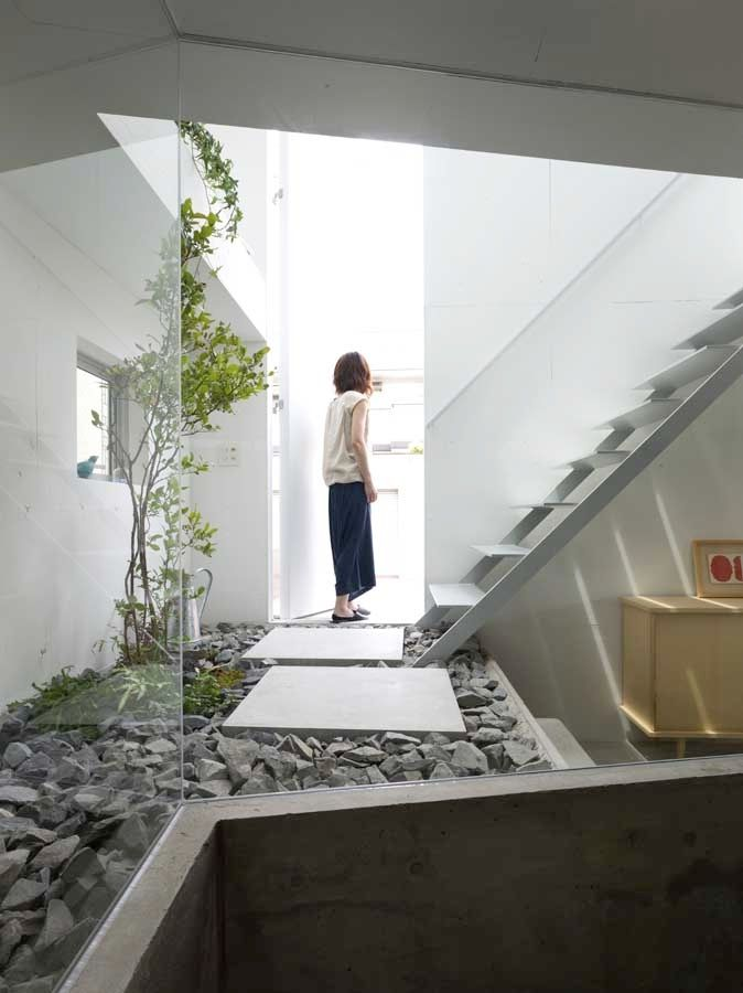 a most unusual view from the kitchen house atelier and architecture