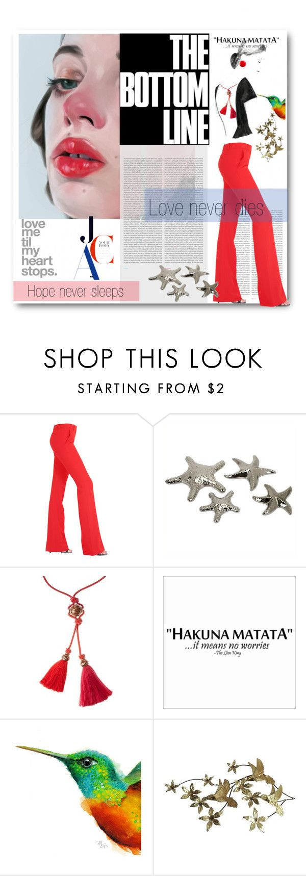 """The Bottom Line"" by deeppurplesea on Polyvore featuring Oris, Alexander McQueen, IMAX Corporation and Lanvin"