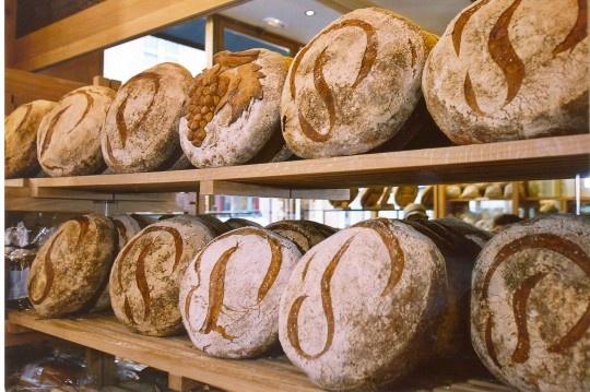The beautiful and delicious Poilane bakery on rue Cherche-Midi. www.girlsguidetoparis.com