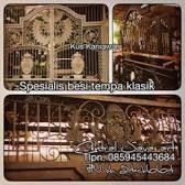 Hasil gambar untuk jual ornamen besi tempa/model pagar besi tempa/besi tempa/rumah klasik-kus kaniawan tangerang, Banten