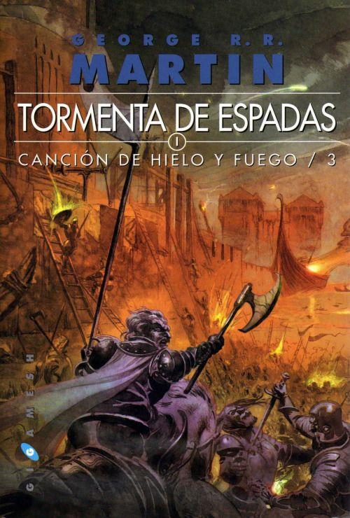 Descargar PDF gratis George Martin Tormenta de espadas Cancion de hielo y fuego/3