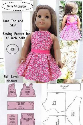 Imgenes De American Girl Outfit Patterns Free