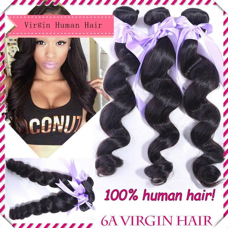 156 best virgin human hair images on pinterest buy wholesale wholesale cheap hair wefts online loose wave find best 6a brazilian loose wave 100g pmusecretfo Image collections
