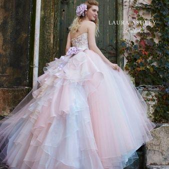 WEDDING BELL(ウェディングベル):NEWブランド【LAURA ASHLEY(ローラアシュレイ)】最新コレクション♪
