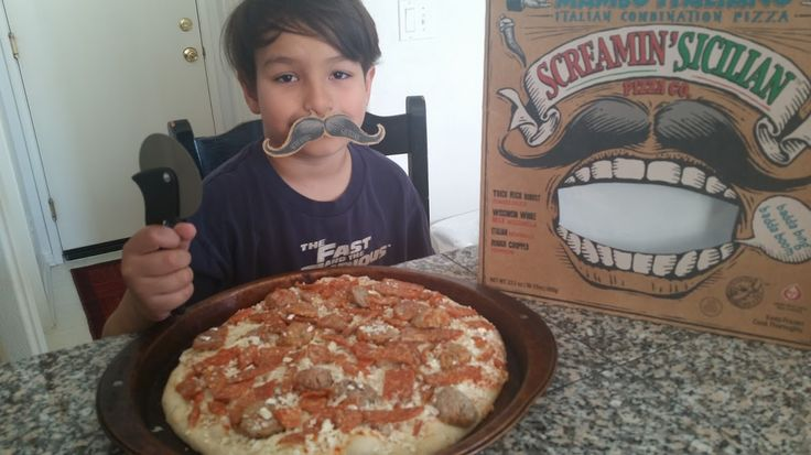Had to share this new picture. We just bought another Screamin' Sicillian pizza. My son loves all the meat on this one. 7/31/16  Just inhaled the new meat lovers Screamin' Sicilian pizza. If I had not received the free pizza coupon from BuzzAgent.com I...