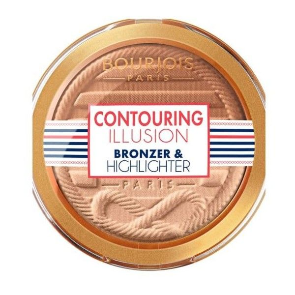 Bourjois Contouring Illusion Bronzer & Highlighter ($10) ❤ liked on Polyvore featuring beauty products, makeup, bourjois makeup, bourjois, bourjois cosmetics and palette makeup